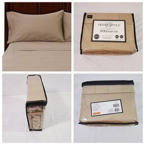 Hotel Style 1100 Thread Count Full Sheet Set 6 PC